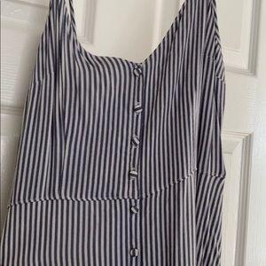 Abercrombie & Fitch Dresses - Abercrombie & Fitch Striped Midi Dress